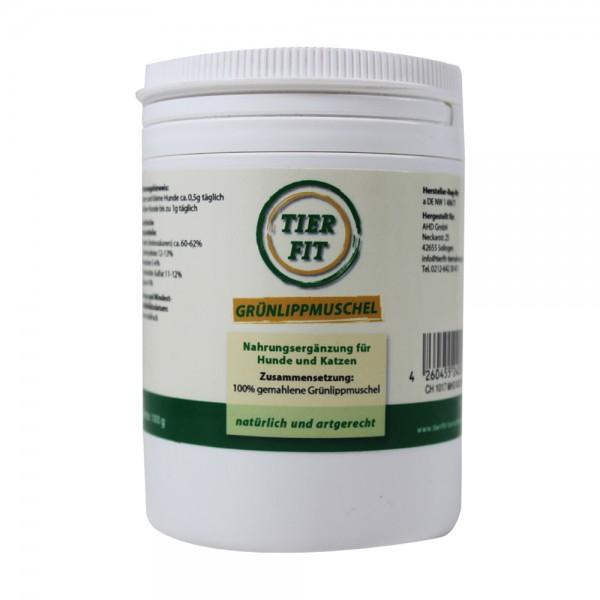 TierFit Grünlippmuschelpulver 100 g