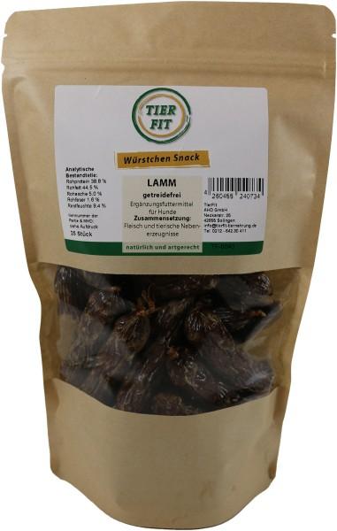 TierFit Würstchen Snack Lamm 25 Stück