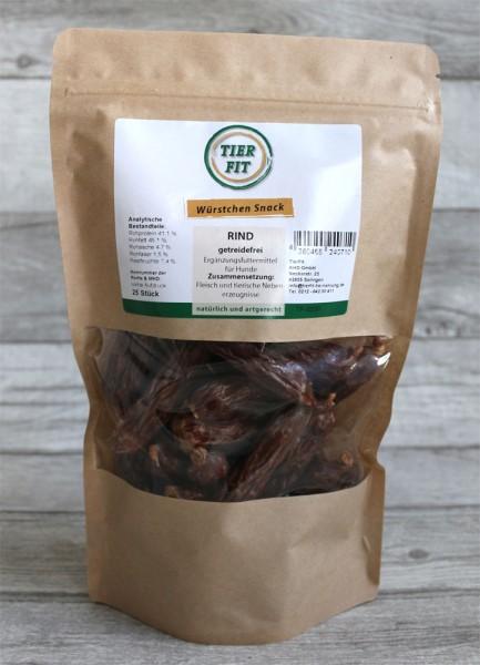 TierFit Würstchen Snack Rind 25 Stück
