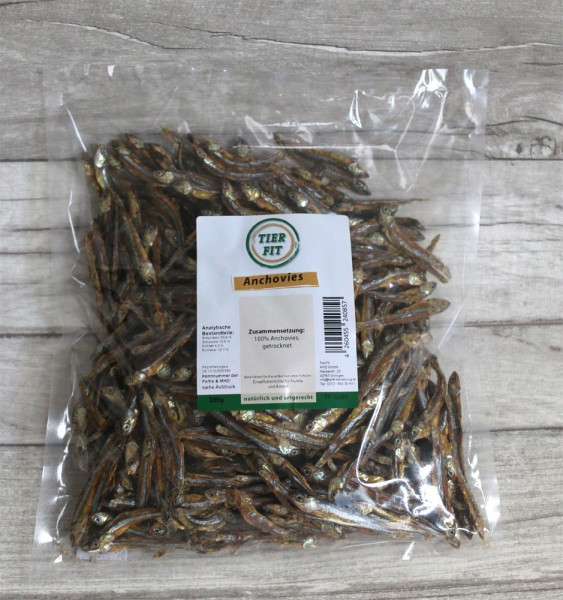 TierFit Anchovies 250g