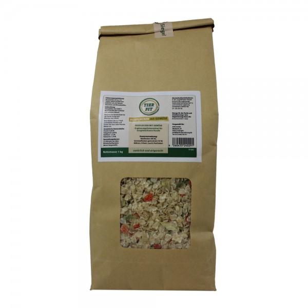 TierFit Reisflocken mit Gemüse 1 kg