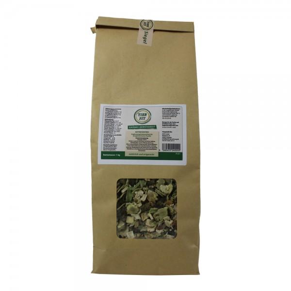 TierFit grünes Gemüsebeet getreidefrei