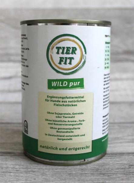 TierFit Fleisch pur Wild