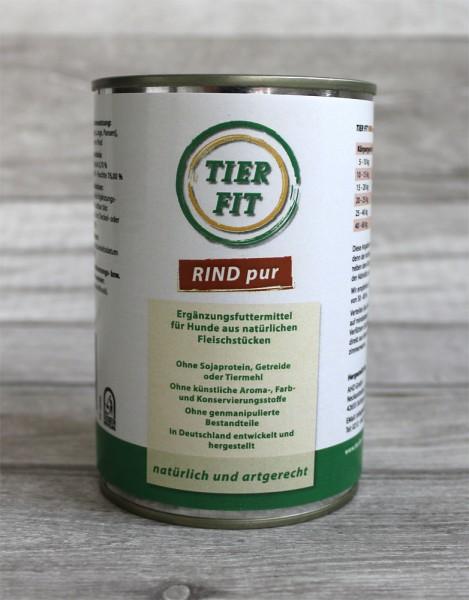 TierFit Fleisch pur Rind