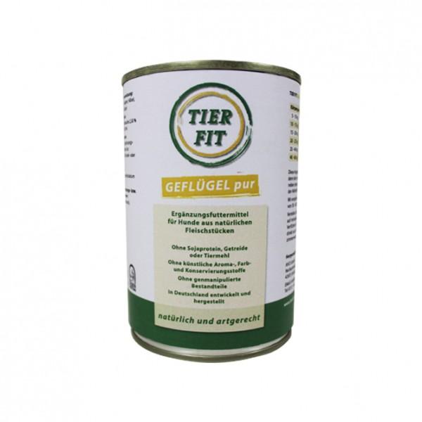 TierFit Reinfleischdose Geflügel ohne Zusatzstoffe